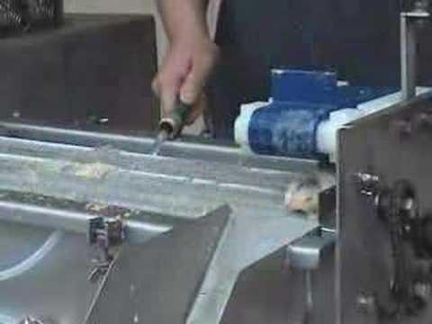 DeLong Automatic Turkey Gizzard Peeler