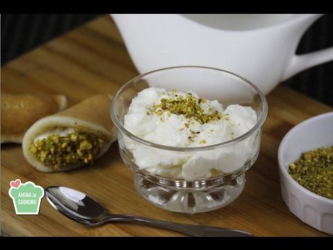 Homemade Ashta Recipe - Episode 144 - Amina is Cooking
