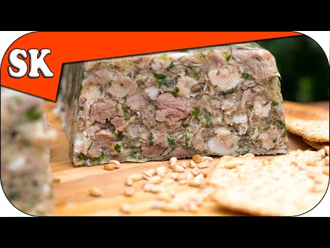 How to Make Brawn - Head Cheese - Fromage de Tête - Meat Series 03
