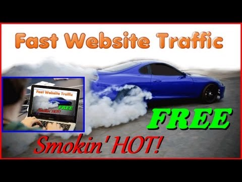Get Unlimited Free Website Traffic - Increase Website Traffic - Free Website Traffic Sources