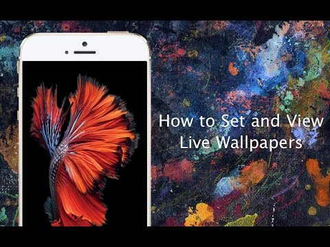 How to set Live Wallpapers on iPhone 6s and iPhone 6s Plus - iPhone Hacks