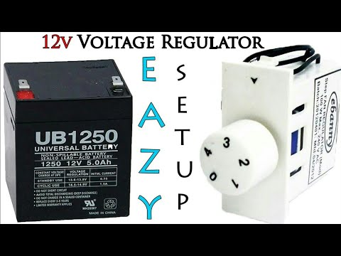 Eazy Make Up to 12v Voltage regulator