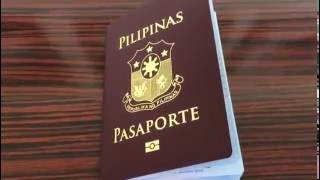 Philippine New High Security Passport Unboxing And First Look
