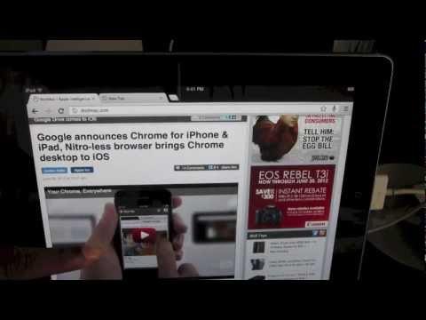 Google Chrome for iPad/iOS