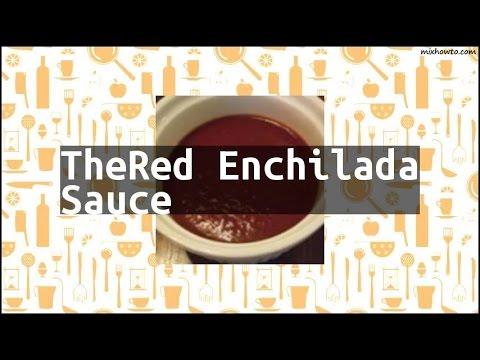 Recipe TheRed Enchilada Sauce