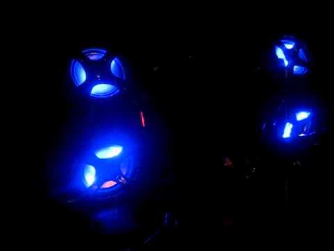 ATV Audio Tube with blue LED's