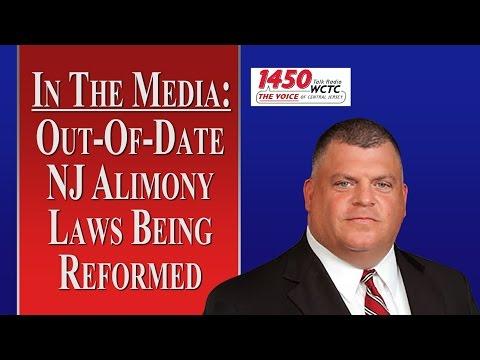 NJ Alimony Laws Being Reformed (WCTC Radio)