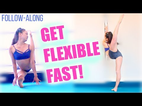 How to get FLEXIBLE for Cheer/Gymnastics! #FollowAlong