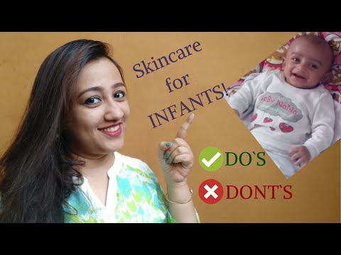 NATURAL INFANT SKIN CARE TIPS! (In Hindi)HOW TO CARE FOR NEW BORN BABY | 8 Most Effective Tips.