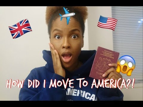 I MOVED TO AMERICA WITHOUT A GREEN CARD?!- Moving Q & A - Visa, Time, Living with strangers?!