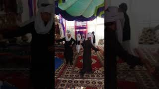 school boys dancing