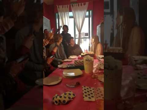 17th Spanish Birthday Cake