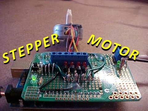 How To Control A Stepper Motor With An Arduino Uno