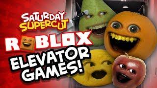 Roblox: ELEVATOR GAMES SUPERCUT! (Annoying Orange Normal Elevator, Scary Elevator, Etc)