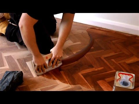 How to Fill a Wooden Floor (EASY!)