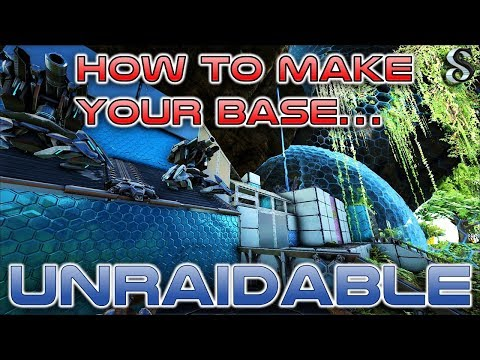 HOW TO MAKE YOUR BASE 💪UNRAIDABLE - ARK ADVANCE BUILDING 👍 TIPS - 2018 - Using Ark S+ mod