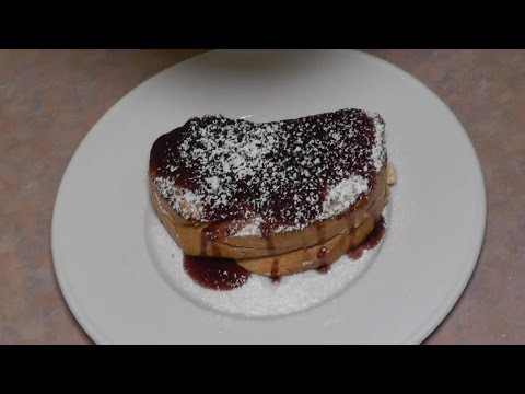 Berry and Cream Cheese Stuffed French Toast