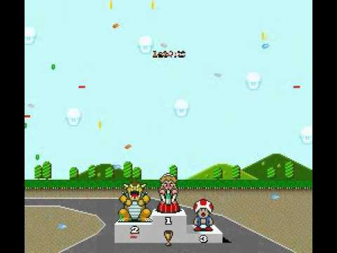 Super Mario Kart: Drunk Peach