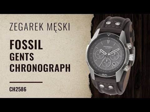 Zegarownia.pl FOSSIL GENTS CHRONOGRAPH CH2586