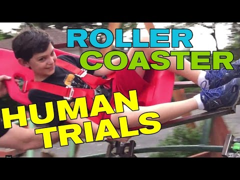 Front Yard Backyard Roller Coaster - First Human Trials