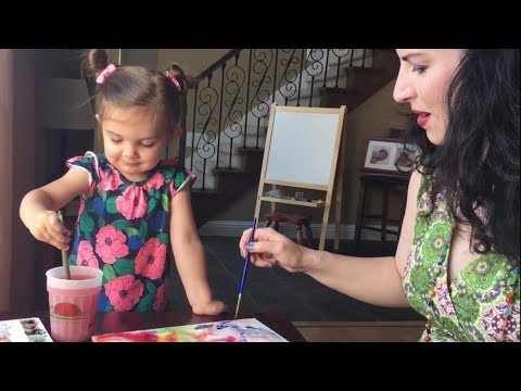 Introducing Children to Watercolor