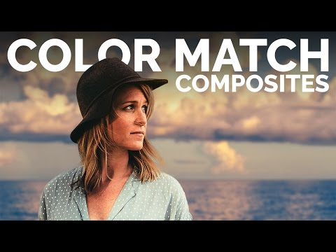 How to Color Match in Photoshop that Looks Real