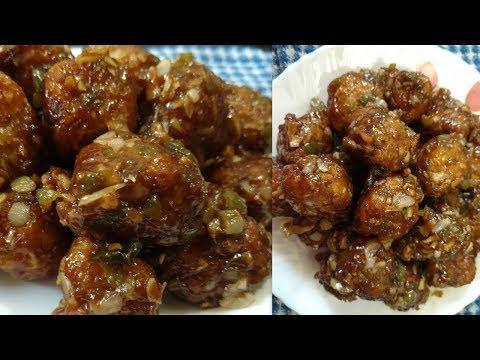 Cabbage Manchurian | Veg Manchurian Recipe without using maida