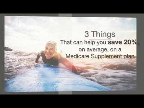 Three Things to Know About Medicare Supplement If You Want to Save 20%