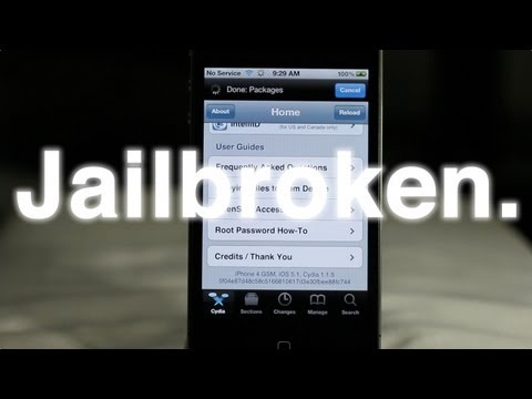 How to Jailbreak iOS 5.1 - Works with iPhone 4, iPhone 3GS, iPod touch, iPad 1