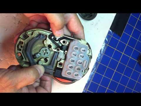 Schlage B365 lock deadbolt problem