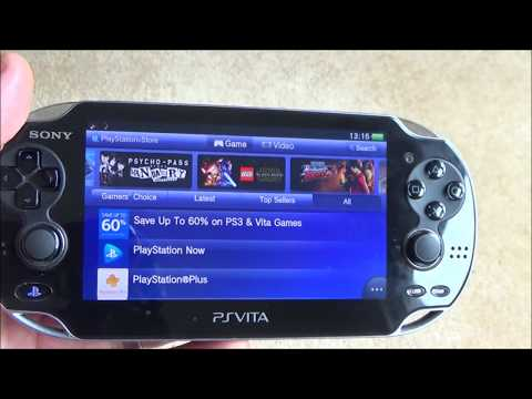 PS Vita : How to get the free monthly PlayStation Plus Games