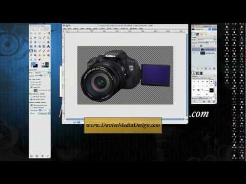 Gimp 2.6 Tutorial: How to Remove Image Background