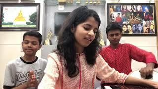 Aaya tere dar par deewana (COVER) by Rishav Thakur,Maithili Thakur and Ayachi Thakur
