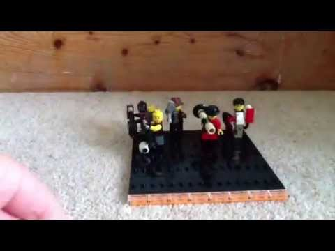 24 - 25 subscriber special lego TF2 customs review
