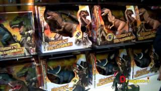 01 Mighty Megasaur - Dragon-i Toys - Dinosaur - T-rex Raptor - Jurassic World