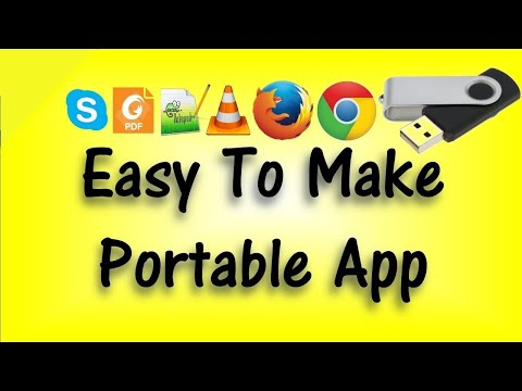 Easy to make portable software