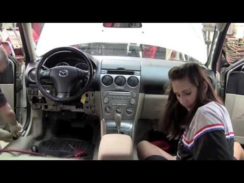 Mazda Dash Removal