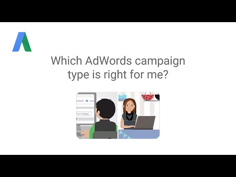 Which AdWords campaign type is right for me?