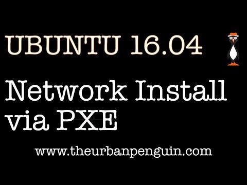Install Ubuntu 16.04 via PXE and network boot