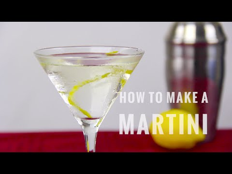 How Make a Martini | The Distilled Man