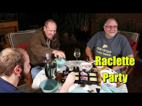 Our Raclette Party with Friends