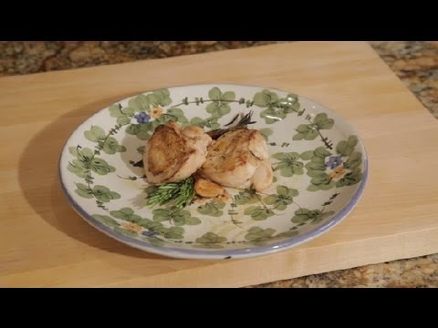 How to Sear Chicken on the Stovetop & Then the Oven : Chicken Recipes