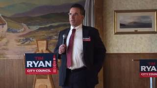 Tim Ryan kicks off campaign for Springfield City Council