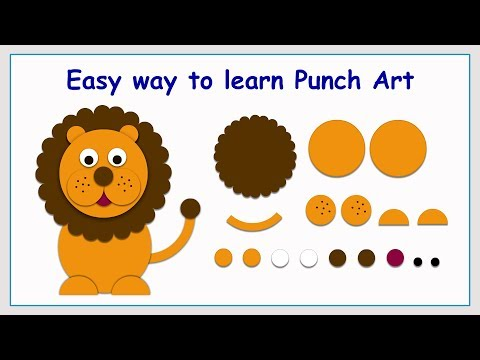 Punch Art Lion