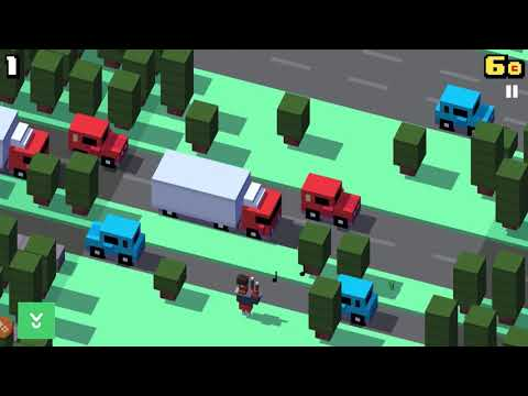 Crossy Road - An endless runner journey