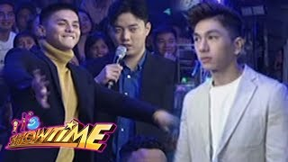 """It's Showtime Miss Q & A: Ronnie, Ryan and Nikko dance to """"Hayaan Mo Sila"""""""