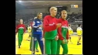 Női kézilabda Európa Bajnokság,2000,Románia,Bukarest. Magyarország-Románia Elődöntő