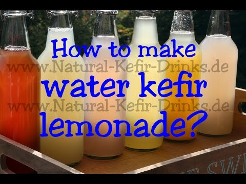 How to make water kefir at home with real live japanese kefir crystals / grains