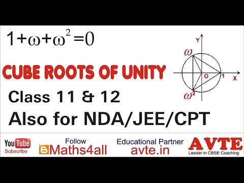 What are CUBE ROOTS OF UNITY || Very Important || सभी मैथ्स स्टूडेंट्स के  लिए