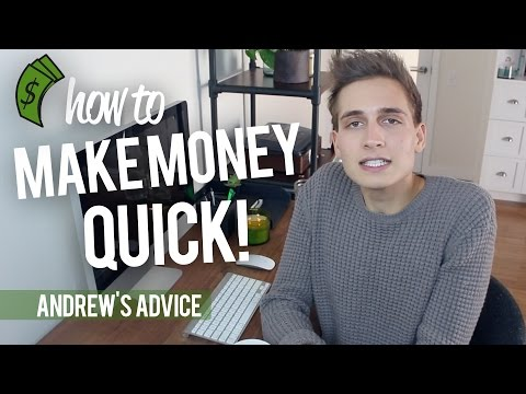 HOW TO MAKE MONEY QUICK! (NOT CLICKBAIT)